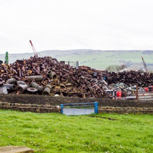 Scrap Metal Yard, Salithwaite