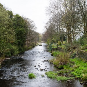 River Colne at Slaithwaite