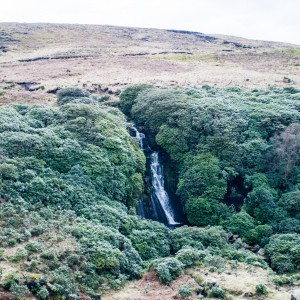 Waterfall in the Wessenden Valley
