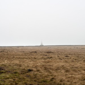 A foggy day at Stoodley Pike