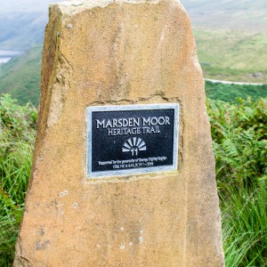 Marsden Moor Heritage Trail Post