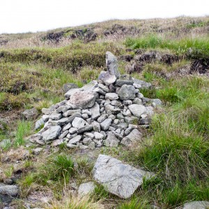 Cairn on Moorland near Wessenden Valley