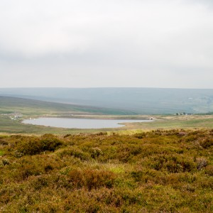 Redbook Reservoir from the Pennine Way 2