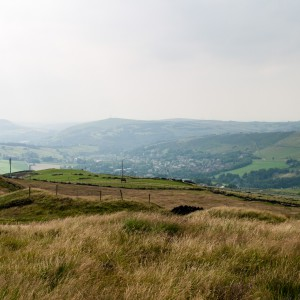 Moorland near the Pennine Way 2