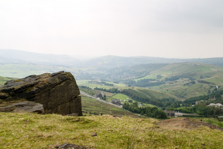 View towards Diggle