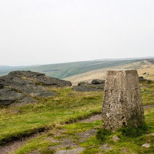 Trig Point on the Pennine Way
