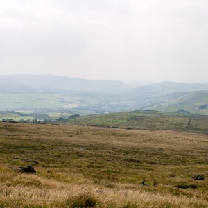 Moorland near the Pennine Way 11
