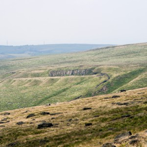 Moorland near the Pennine Way 12