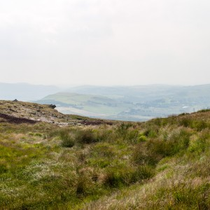 Moorland near the Pennine Way 13