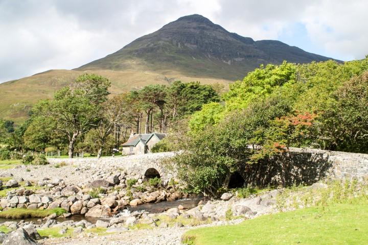 Beinn nan Gobhar from Lochbuie