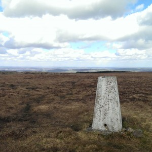 Snailsden Trig Point